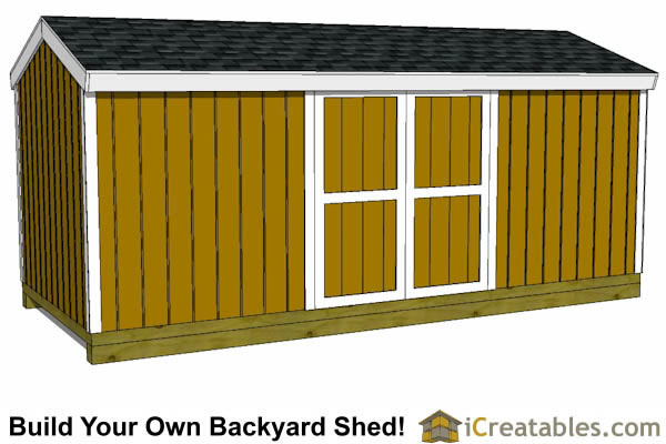 8x20 shed plans right