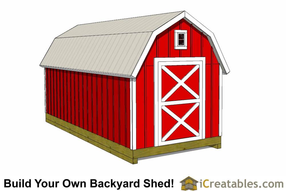 8x20 Backyard Storage Shed Plans