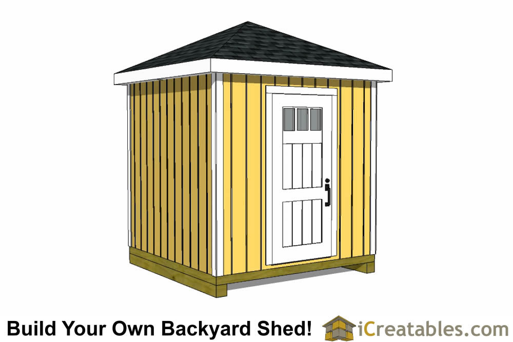 8x16 hip roof shed plans for Hip roof design plans