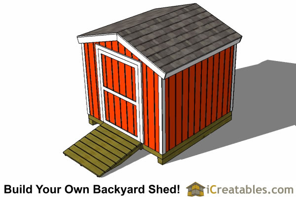 8x8 shed plans top