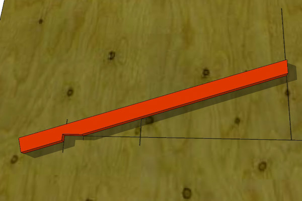 Learn here: Building a shed ramp on uneven ground