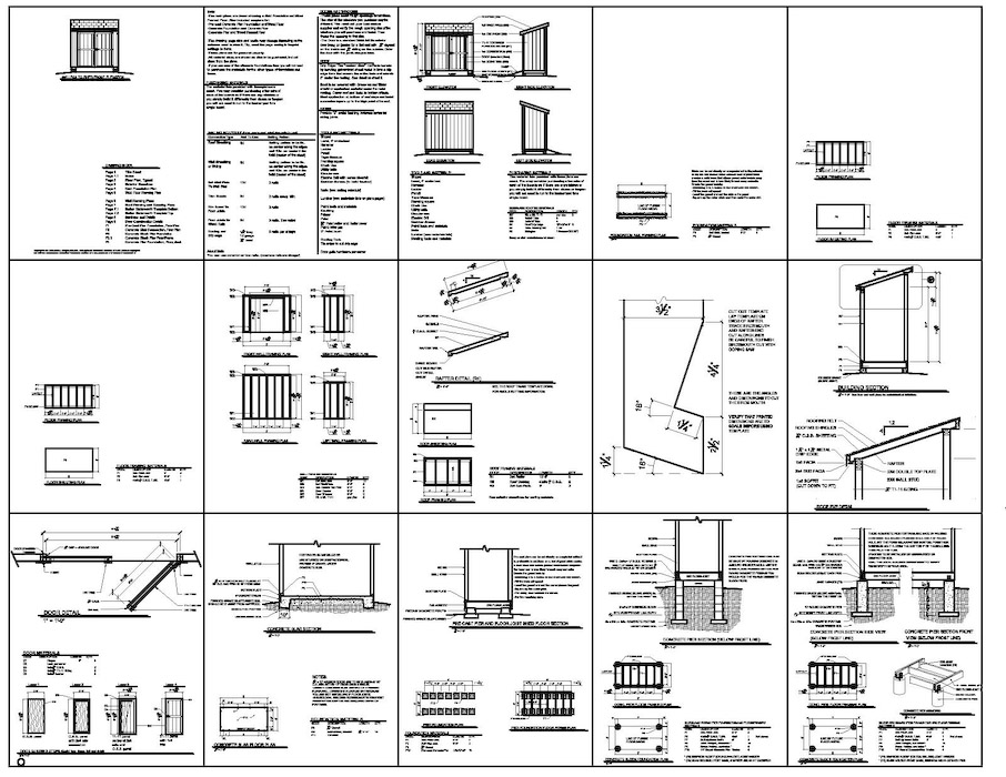 4x8 lean to storage shed plans they from the 4x8 lean to for Lean to plans free