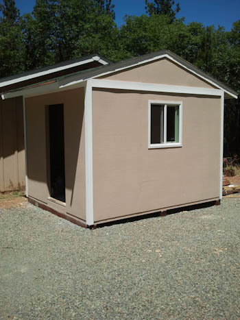 10x12 gable shed photo