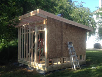 10x12 Shed Interior