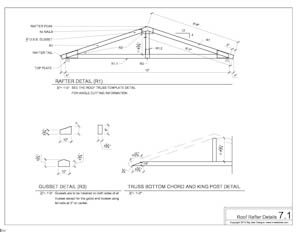 shed plans roo rafter plans