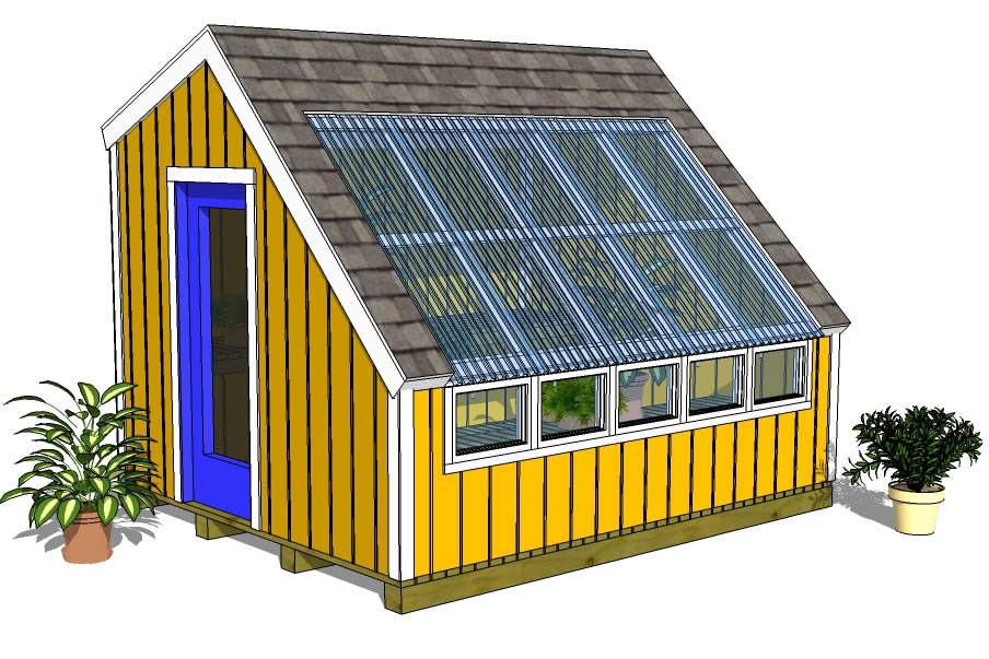 greenhouse shed plans