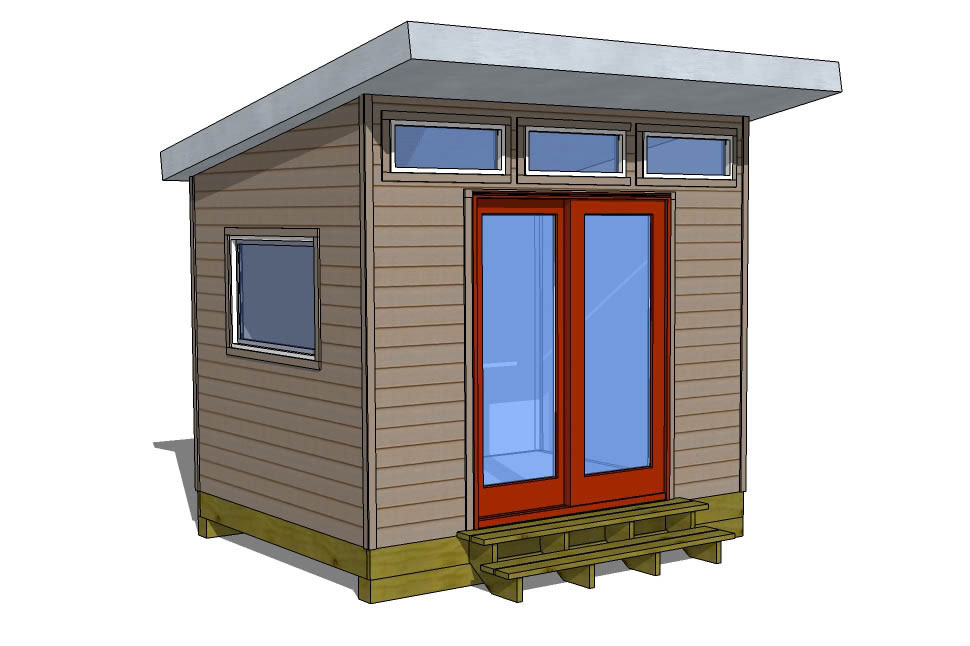 Storage Shed Plans - How To Build A Shed - Shed Designs