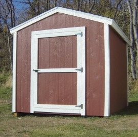 how to build a shed completed