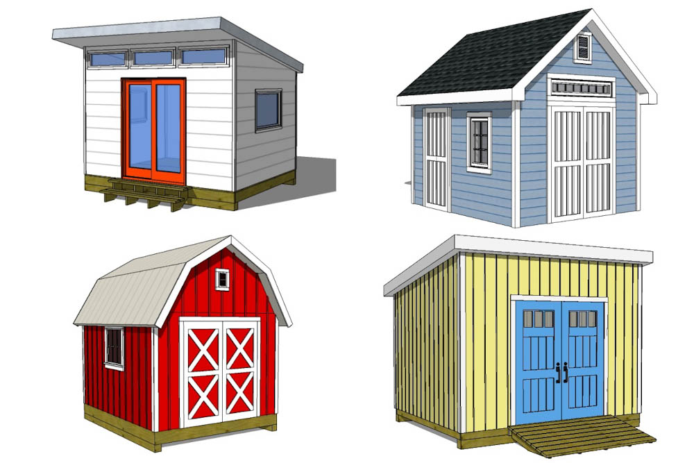 Backyard Shed Plans Library