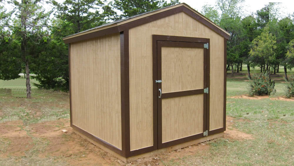 8x16 Storage Shed Plans - Easy to Build Designs - How to