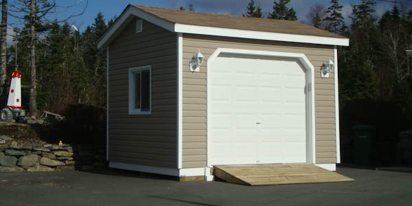 Shed Plans With Garage Door