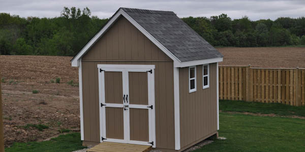Cape Cod style garden shed plan