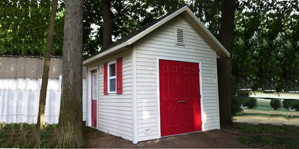 Garden shed plans backyard shed designs building a shed for Cape cod shed plans