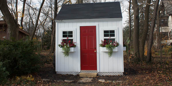 colonial style garden shed plans