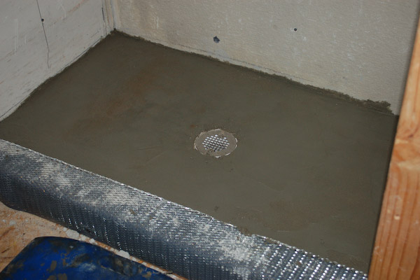 How To Build A Tile Shower Pan Icreatables Com