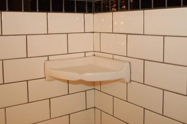 Shower Corner Shelf Install A Tile Soap Dish Icreatables Com