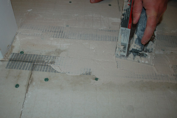 Install Tile Backer Board On Sub Floor | icreatables.com