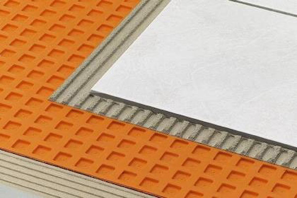 Ditra Mat underlayment for tile is a tile backer that has some great  benefits when installing tile over O.S.B. or plywood sub floors. - How To Install Ditra Mat Tile Underlayment Icreatables.com