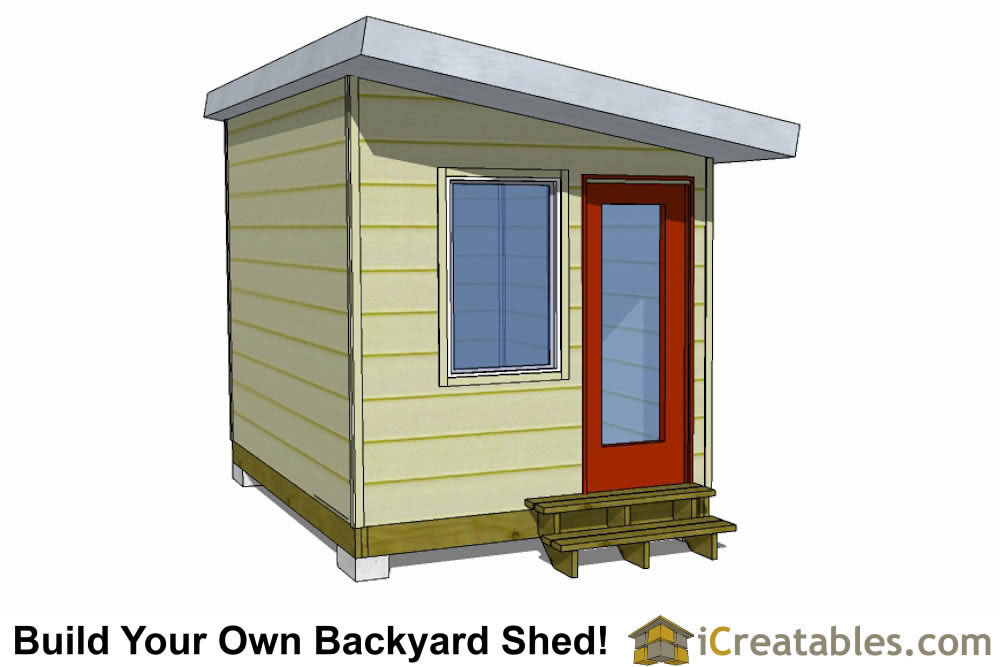 8x12 low income house plans door end