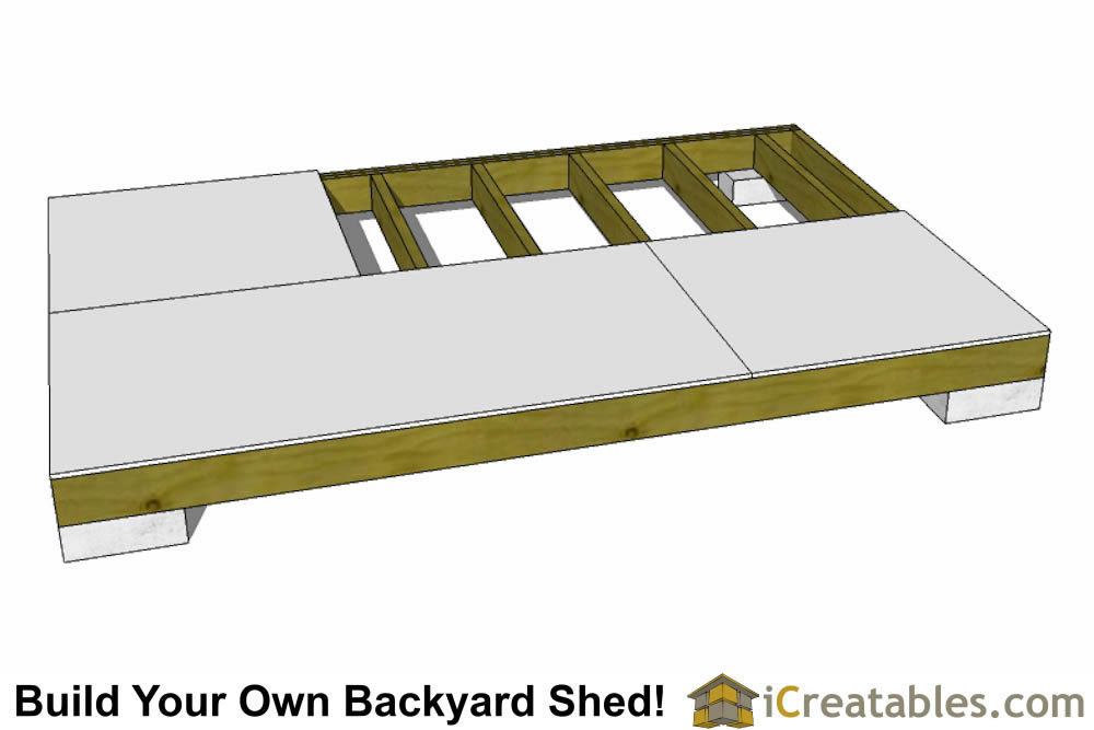 How to build low income housing floor sheeting